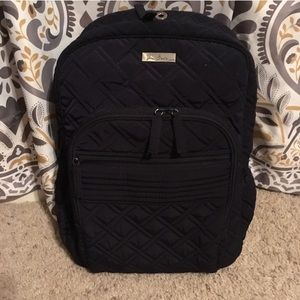 Vera Bradley || Navy Blue Campus Backpack